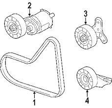 parts com® volkswagen jetta belts pulleys oem parts 2007 volkswagen jetta wolfsburg edition l5 2 5 liter gas belts pulleys
