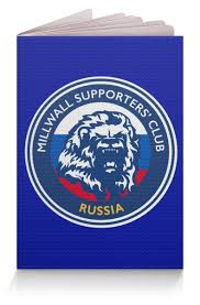 Обложка для паспорта <b>Millwall MSC</b> Russia passport #2776290 в ...