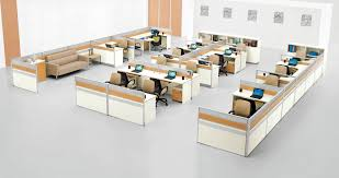 office layout. Modern Office Layout I