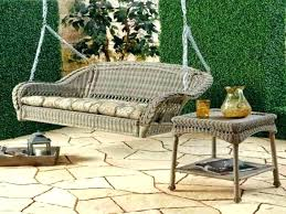 outside swing chair. Porch Swing Chair Wicker Sofa Wooden Seat Outside Bed Metal . Related Post