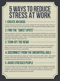 Stress Management In The Workplace Handling Work Stress