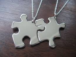 best friend necklaces interlocking