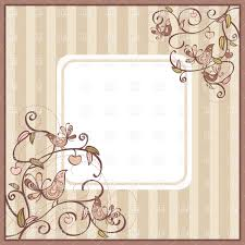 vintage square frame with curly twigs and birds in corners vector image vector artwork of to zoom