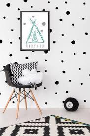 polka dot wall stickers vinyl decal