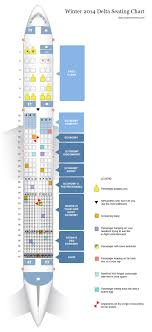 Delta Airlines Aircraft Seating Chart Deltas New Airplane Seating Chart Seating Charts Plane