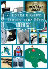 20 Unique Gift Ideas for Men Under $20 Buying a gift on a budget doesn'