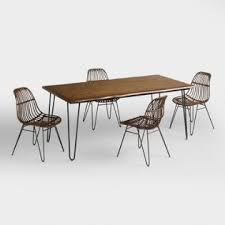 dining room table collections. wood flynn hairpin dining collection room table collections