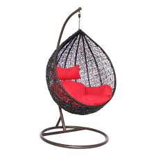 Swinging Chair For Bedroom Modak Black Outdoor Swing Chair Woodys Furniture