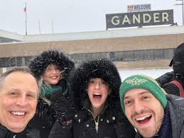 While Come From Away Took A Break Its Toronto Cast Visited Gander