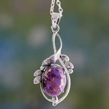 unicef market purple turquoise silver