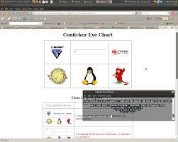 67 Prototypal Confliker Eye Chart