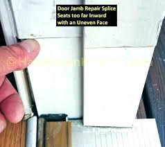 replacing outside door replace exterior door jamb cost to replace exterior door replacing front door frame