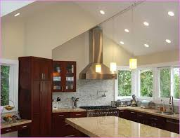 image of sloped ceiling lighting hanging