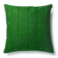marimekko varvunraita green throw pillow  holiday home accents