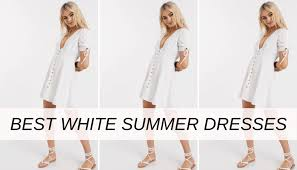 the best white summer dresses 2020