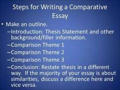 thesis statement generator for a compare and contrast essay  thesis statement generator for a compare and contrast essay