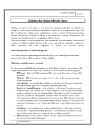 guidelines for writing scholarly paper by sohail ahmed formative english guidelines for writing scholarly papers writing even just a brief essay