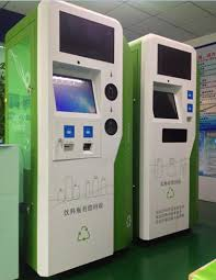 Used Vending Machines Ireland Interesting Reverse Vending Machine For Recycle Used PET Bottles Aluminum Can