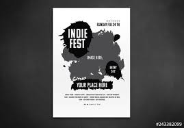 Paint Net Templates Paint Splatter Flyer Layout Buy This Stock Template And