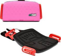 <b>Автокресло Mifold the</b> Grab-and-Go Booster seat Perfect Pink ...