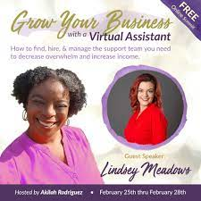 2019 Grow Your Business With A Virtual Assistant Summit - Meadows Resources