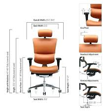 office chair seat height 25 inches dumound terrific desk ergonomic home design 23