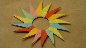 Basteln Mit Papier Sterne Falten Deko Ideen Mit Flora