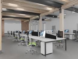 office desking. Bench Desk Pole Leg Room Set Office Desking E