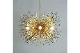 gold sputnik chandelier mid century modern large brass urchin 5 bulb starburst ceiling lamp light uk gold sputnik chandelier picture uk