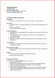 Ideal Resume Format Ideal Resume Format Magnificent Updated Resume Format Inspirational 7