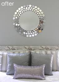 Silver Mirrors For Bedroom How To Spray Paint A Mirror The Homes I Have Made