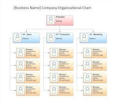 Chart Template Word Organizational Chart Templates Word Excel Company Structure