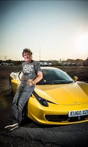 What does james may, captain slow, want to do with his free time? James May S Flower Zdjecie Top Gear Uk Top Gear Bbc James May