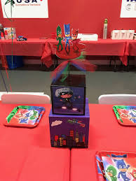 Pj Mask Party Decorations PJ Mask Inspired Centerpiece PJ Mask Party decorations PJ Mask 37