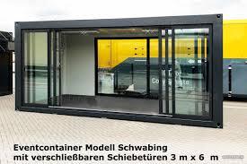 Eventcontainer 1 Messecontainer Für Events Ausstellungen