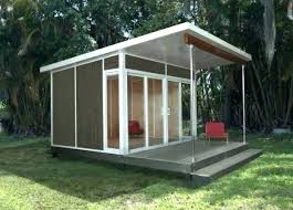 outdoor shed office.  Shed Backyard Shed Office Plans The Best Prefabricated Outdoor Home Offices  Designs Prefab Modern On For Sale Prefabric Inside E
