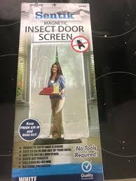 magnetic door mesh hands free door screen