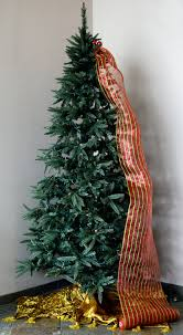 How to Decorate a Christmas Tree Using the Tinsel Ball Ties to Add Deco Mesh  and Ribbon