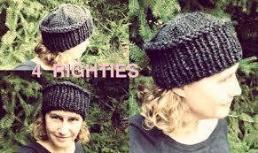 Knit Hat Pattern Straight Needles Interesting Inspiration Ideas