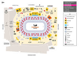 Detroit Little Caesars Arena Seating Chart Little Caesars Arena See Parking Maps Inside Concourse Maps