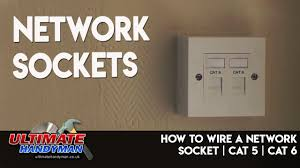 how to wire a network socket cat 5 Category 5 Wiring Diagram Pin Round Trailer
