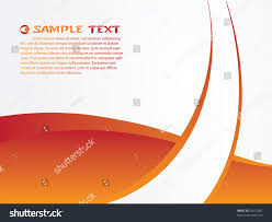 Orange Background Design Stock Vector Royalty Free 55661587