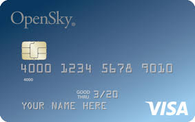best for bad credit or no credit opensky secured visa credit card