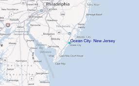 Tide Chart Ocean City Nj Ocean City New Jersey Tide Station Location Guide