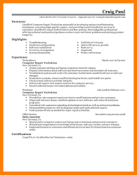 Mechanic Resume Examples Self Introduce Resumes Templates Format