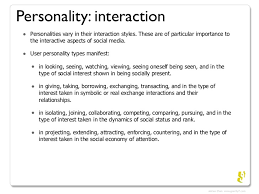 social media personality types personality interaction