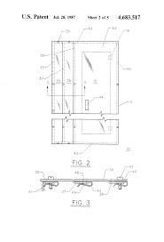 patent us4683517 integrated lighting panelboard and wiring Auxially Gutter Wiring Diagram Auxially Gutter Wiring Diagram #24