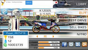 download game drag bike 201m mod apk indonesia untuk android apk