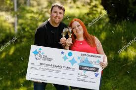 Lotto millionaires William Sophie Richards Editorial Stock Photo - Stock  Image | Shutterstock