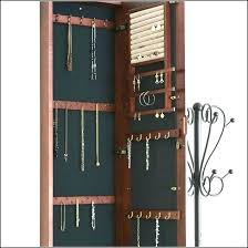 necklace wall hangers set jewelry display vertical earring necklace bracelet organizer